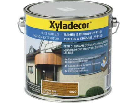 Xyladecor beits ramen & deuren UV-plus 2,5l lichte eik