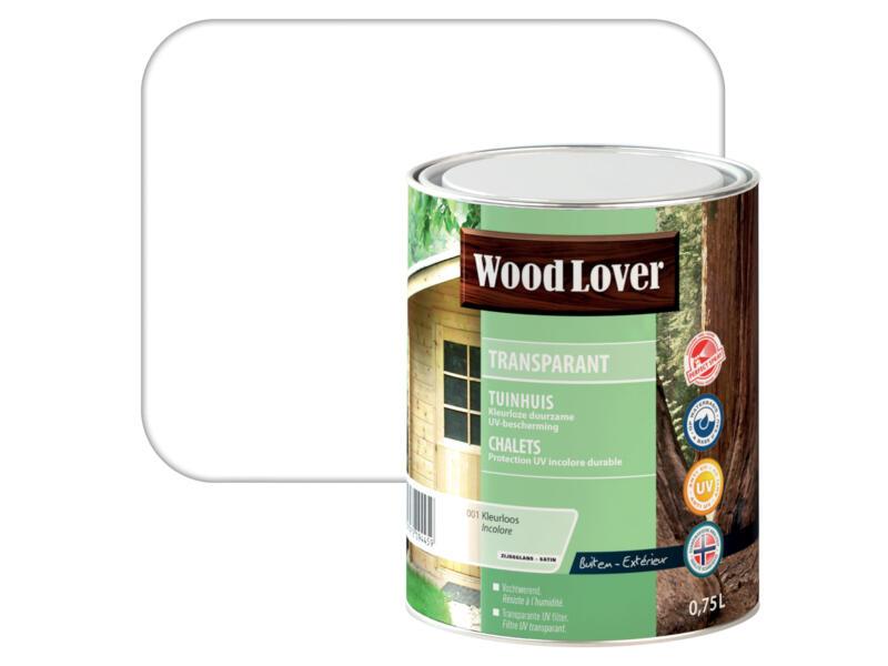 Wood Lover beits tuinhuis 0,75l kleurloos