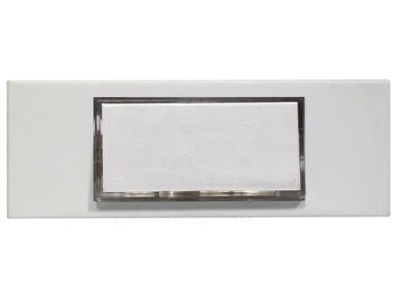 Chacon beldrukknop met achtergrondverlichting wit