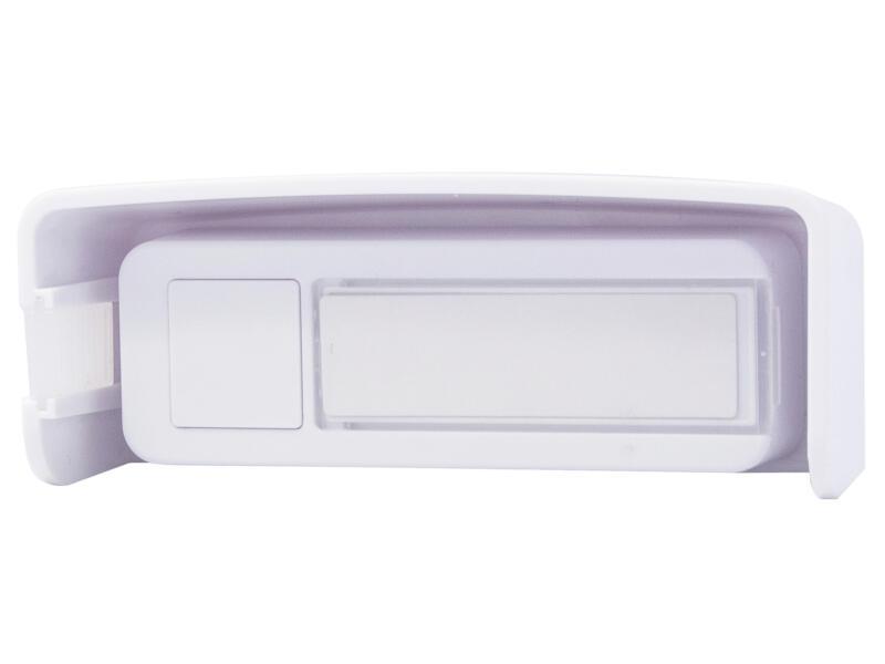 Chacon beldrukknop voor draadloze deurbel wit
