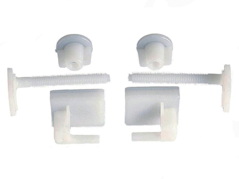 Wirquin bevestigingsset WC-zitting PVC