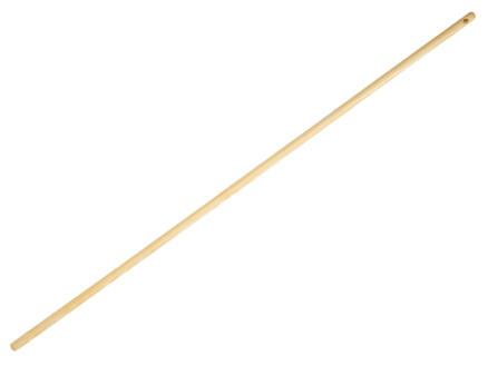 Polet bezemsteel 120cm hout
