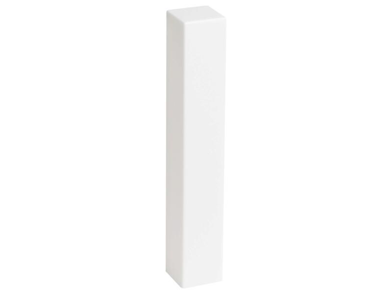 CanDo binnen- en buitenhoek plint kunststof wit 2 stuks