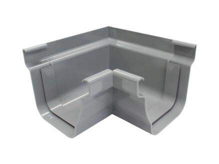 Scala binnenhoek voor dakgoot C140 PVC donkergrijs