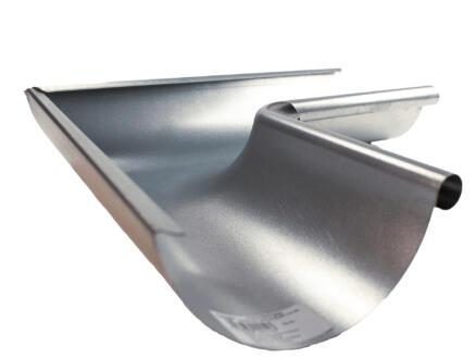 Scala binnenhoek voor dakgoot G125 galva grijs