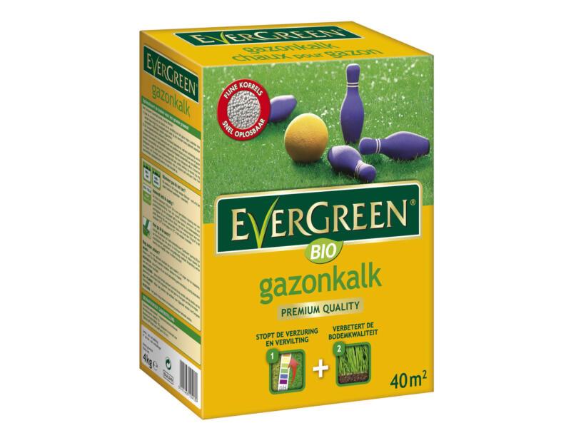 Evergreen bio chaux pelouse 4kg 40m²