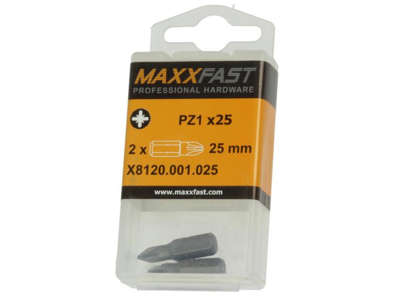 Maxxfast bit PZ1 2 stuks