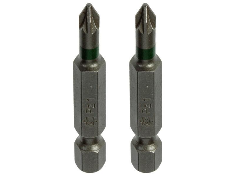 Mack bit PZ1 50mm 2 stuks