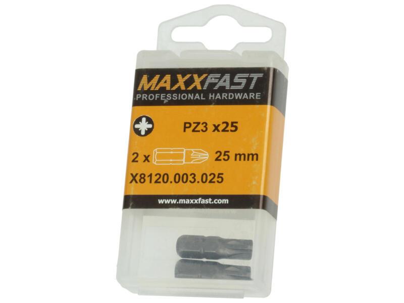 Maxxfast bit PZ3 2 stuks