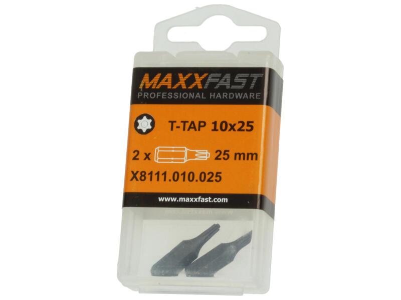 Maxxfast bit T-TAP10 2 stuks