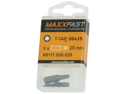 Maxxfast bit T-TAP20 2 stuks