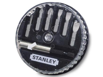 Stanley bitset PZ/SL met bithouder 7 stuks