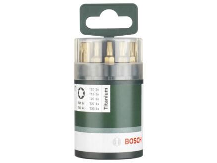 Bosch bitset Torx titanium 10-delig