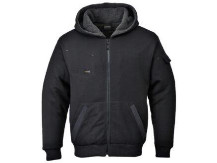 Portwest blouson avec capuche à doublure XL noir
