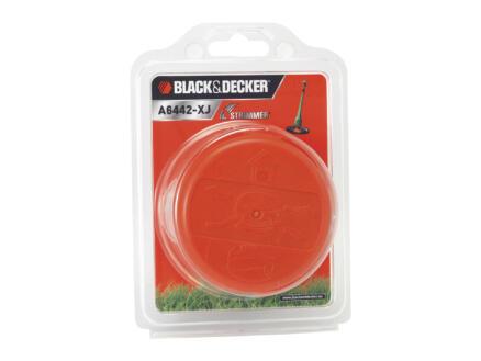 Black+Decker bobijn dubbele trimmerdraad 1,5mm 6m + cap