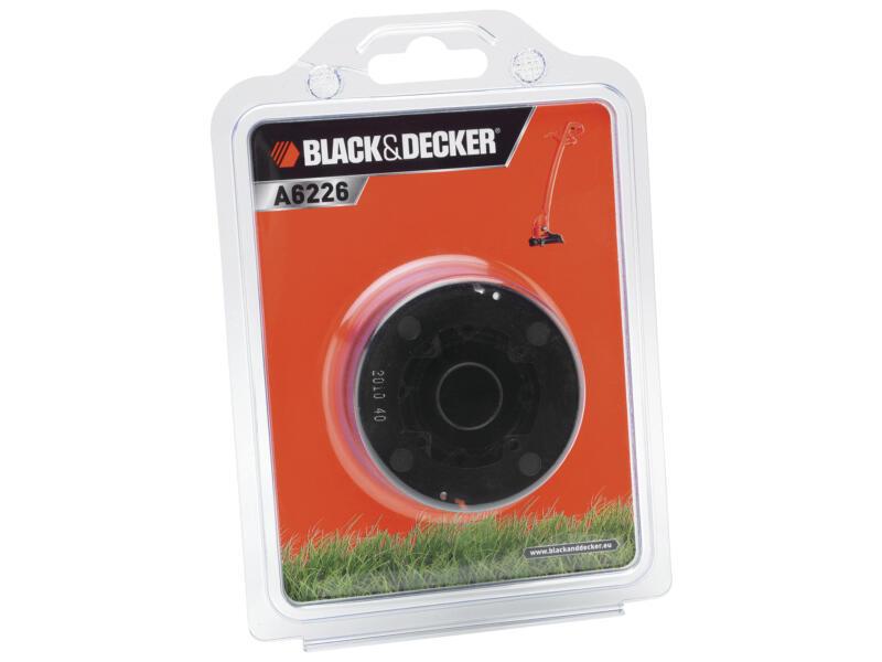 Black+Decker bobine de fil pour coupe-bordures 1,5mm 6m