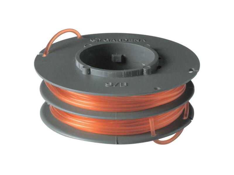 Gardena bobine double fil pour coupe-bordures 1,6mm 5m