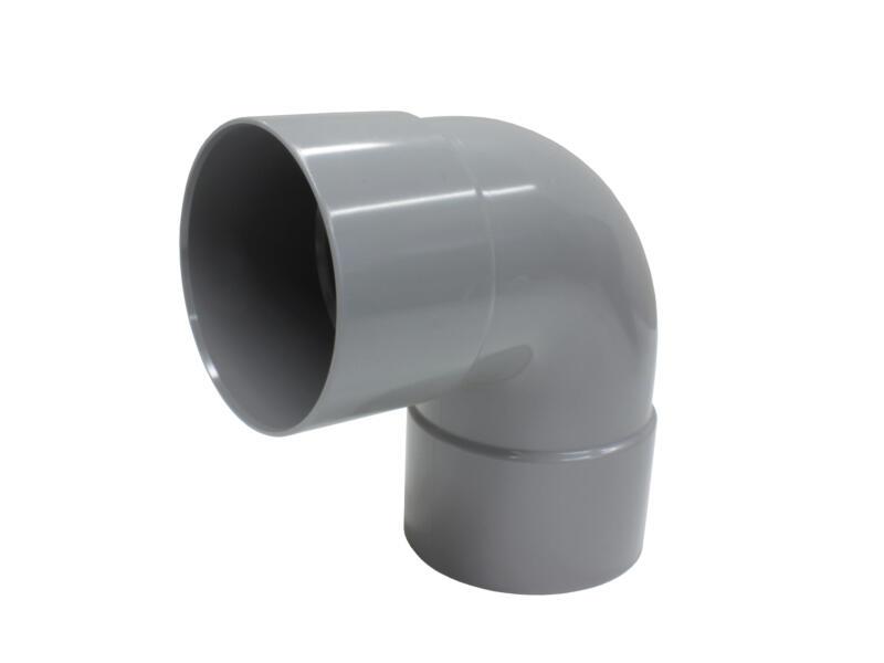 Scala bocht 87° SG FF 75mm PVC grijs