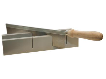 Toolland boîte avec scie à onglets 24,5x4x3,5 cm