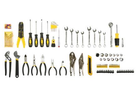 Toolland boîte d'outils 99 pièces