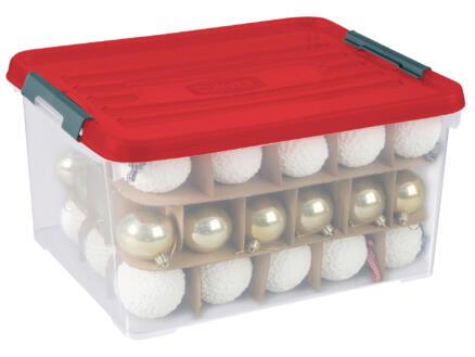 Curver boîte de rangement Xmas Box Handy+ 35l