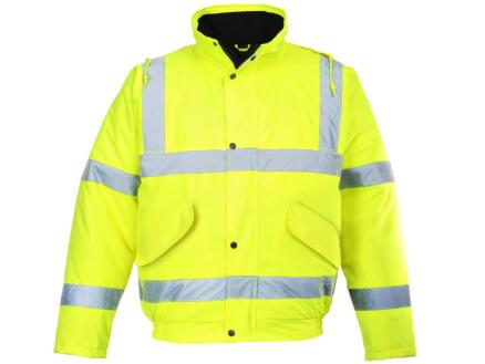 Portwest bomber jacket M geel