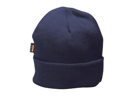 Portwest bonnet à doublure microfibres bleu