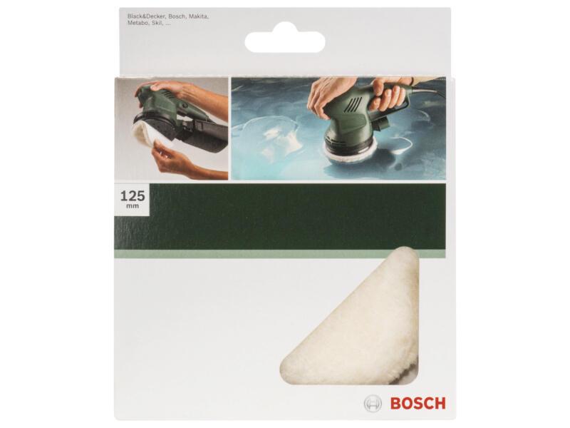 Bosch bonnet de polissage velcro 130mm