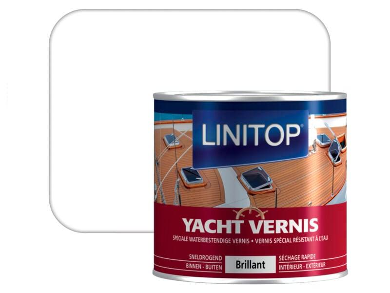 Linitop bootvernis hoogglans 0,25l kleurloos