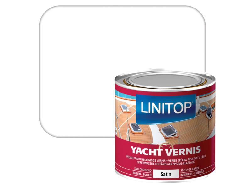 Linitop bootvernis zijdeglans 0,25l kleurloos