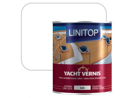 Linitop bootvernis zijdeglans 0,75l kleurloos
