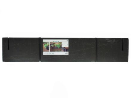 bordure 100x100x19cm set 4 pièces