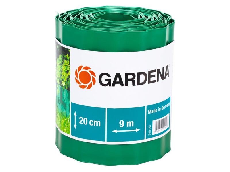 Gardena bordure à gazon flexible 20cm 9m vert