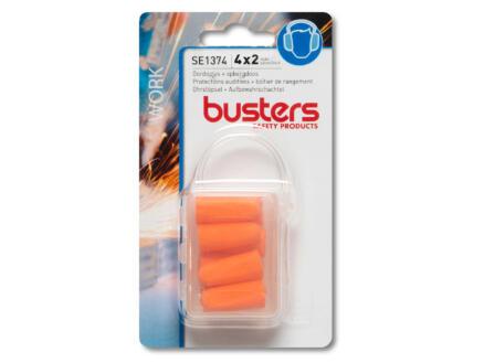 Busters bouchons d'oreille 32dB 4x2 pièces
