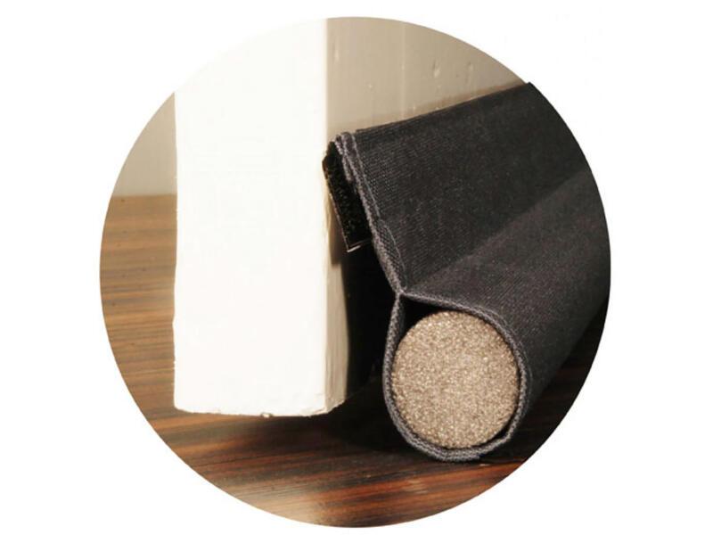 Confortex bourrelet de porte avec bande auto-agrippant 93cm 3,8cm