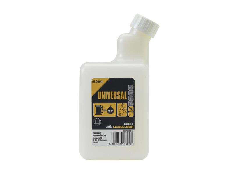 McCulloch bouteille de mélange pour huile 1l