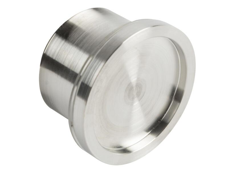 Solid bouton de porte rond 40mm inox