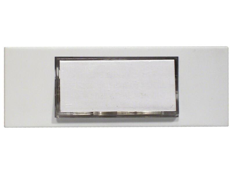 Chacon bouton poussoir sonnette lumineux blanc