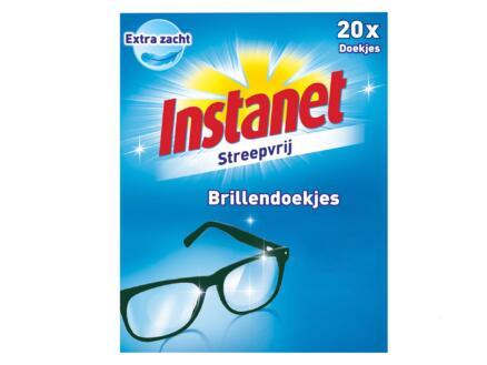 Instanet brillendoekjes 20 stuks