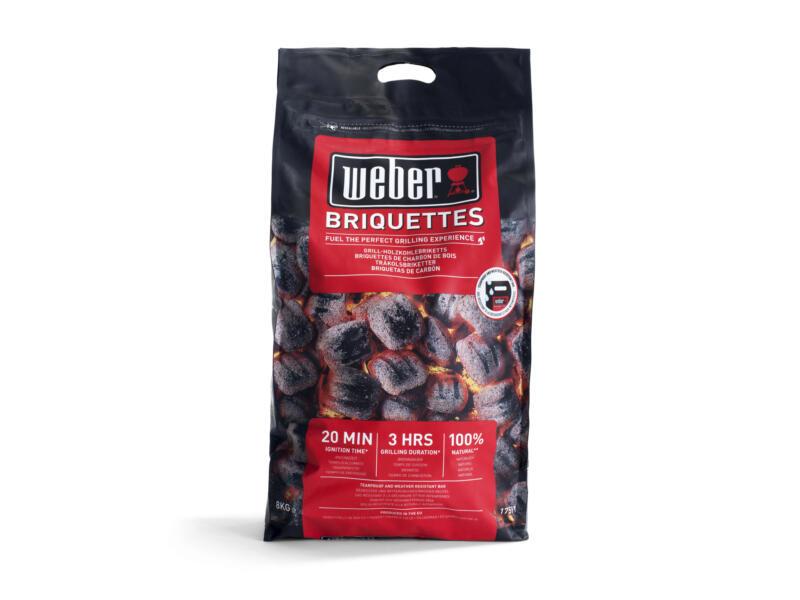 Weber briquettes de charbon de bois 8kg