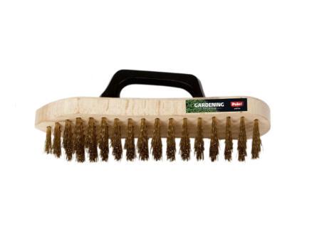 Polet brosse abrasive acier avec poignee