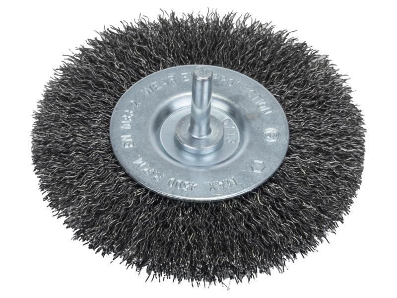 Bosch brosse circulaire à fils ondulés 100mm 6mm