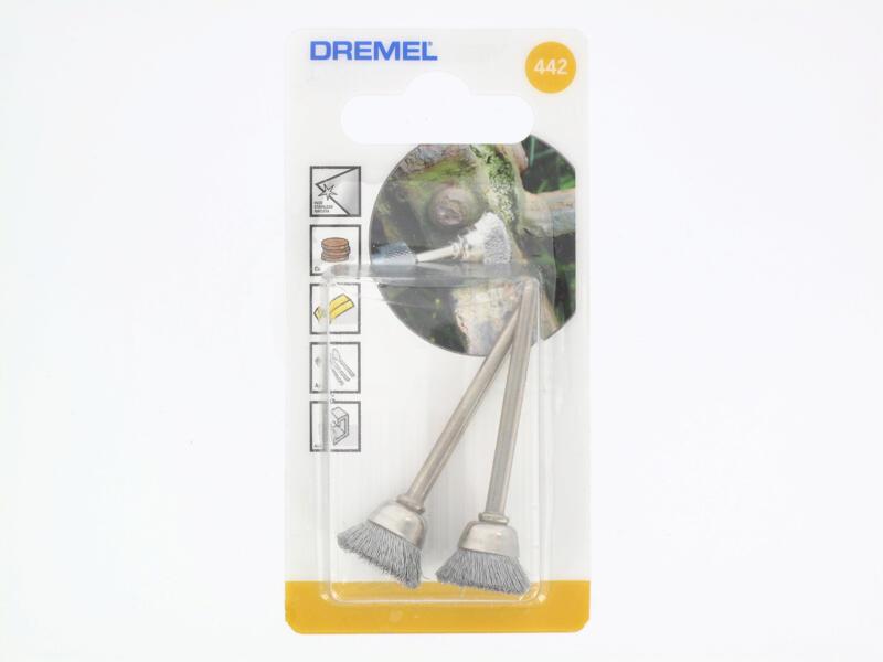 Dremel brosse en fil d'acier 13mm