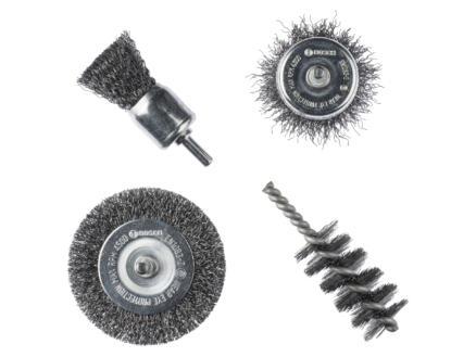 Bosch brosses métalliques 4 pièces