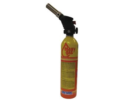 Oxyturbo brûleur à gaz avec bouteille de gaz