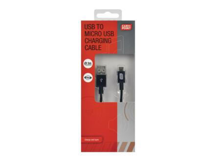 Carpoint câble USB / micro-USB 1m