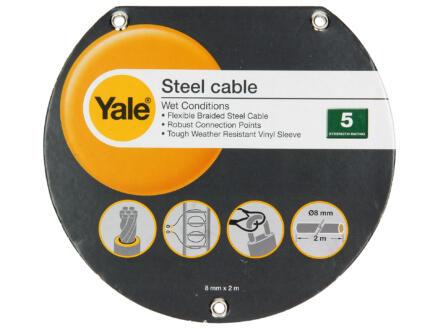 Yale câble antivol 200cm