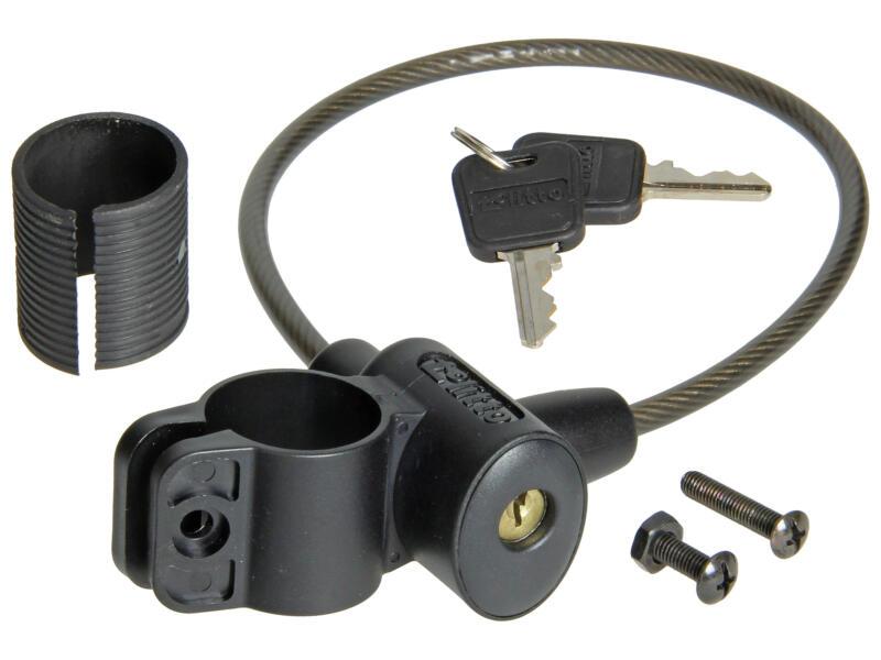 Yale câble antivol à clé 20cm avec support