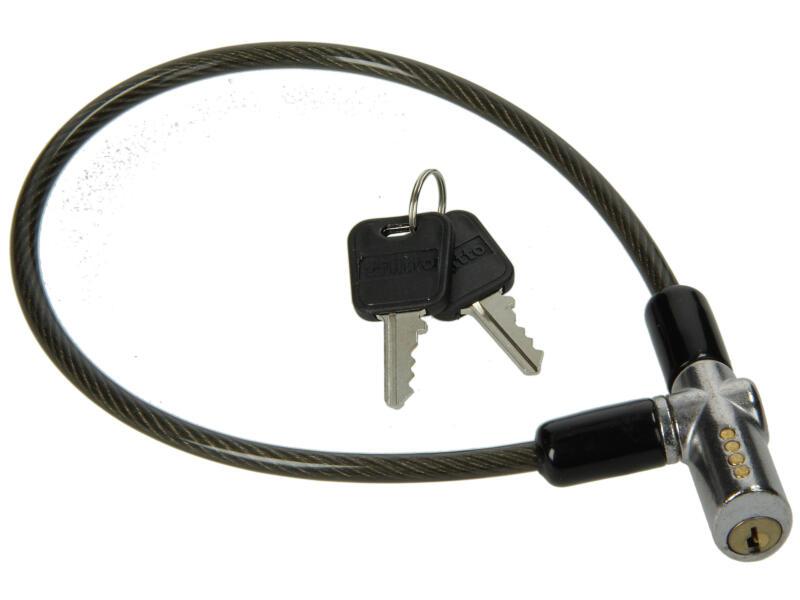 Yale câble antivol à clé 20cm