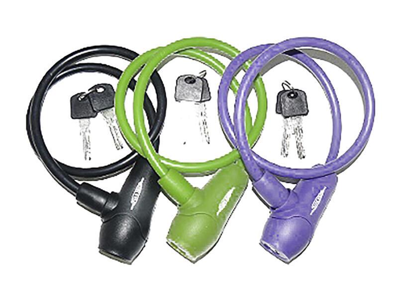 Maxxus câble antivol à clé 65cm silicone